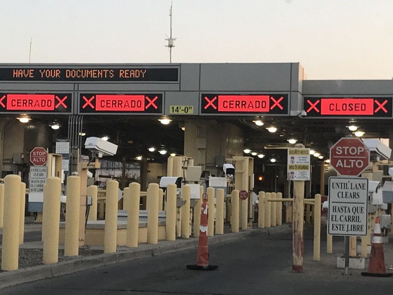 México y EU revisarán apertura de algunas actividades en frontera