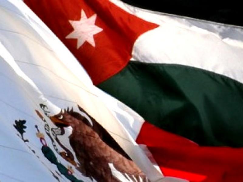 México y Jordania estrechan lazos diplomáticos.