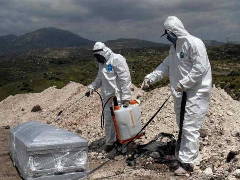 México ya rebasó las 195 mil muertes por COVID-19.