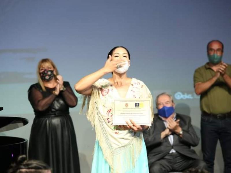 Mezzosoprano zamorana ganadora del Certamen Internacional de Zarzuela 2020