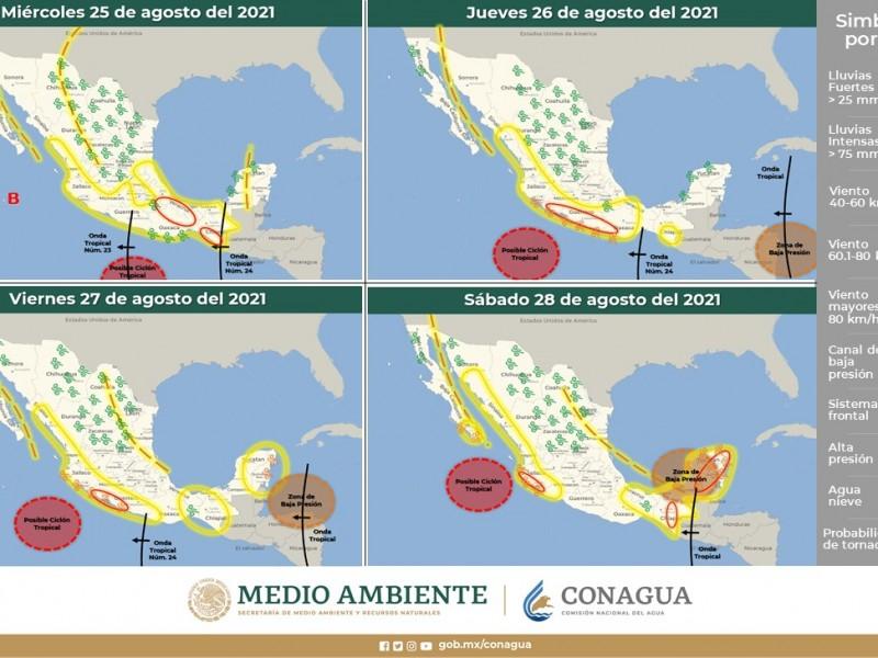 Michoacán continuará con fuertes lluvias