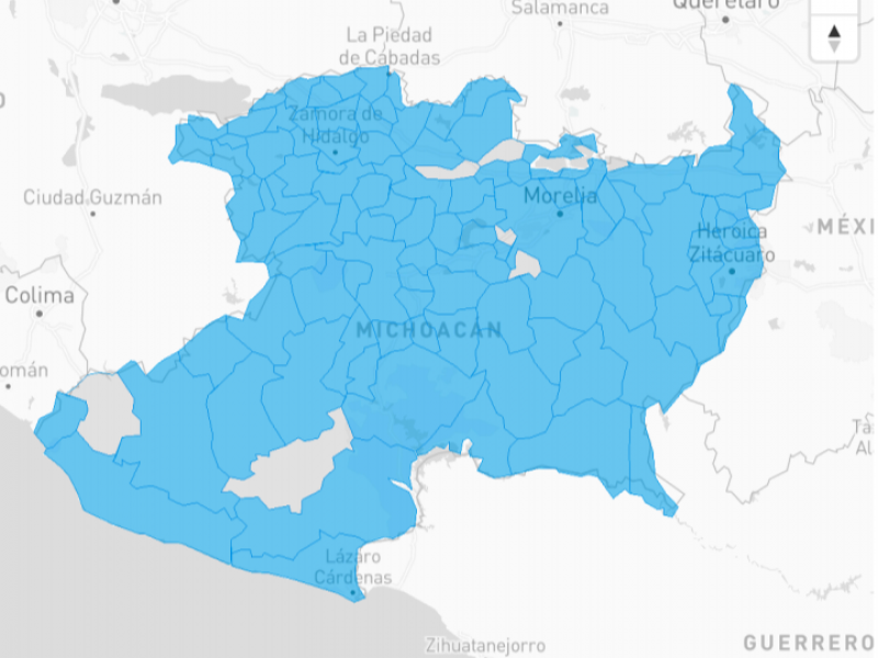 Michoacán llega a los 7, 194 casos positivos de COVID-19