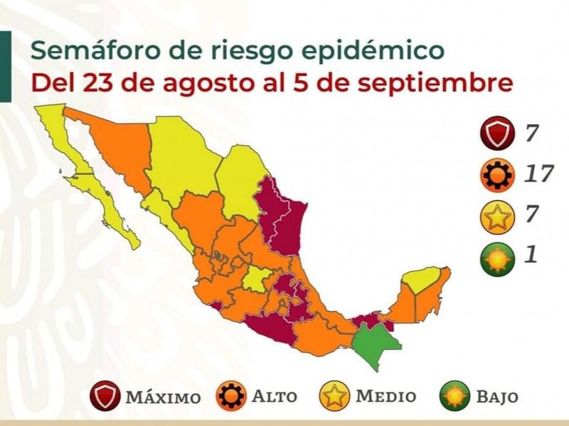 Michoacán permanecerá en semáforo naranja por una semana más