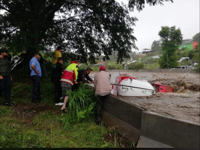 Michoacán registra afectaciones por el paso de Nora