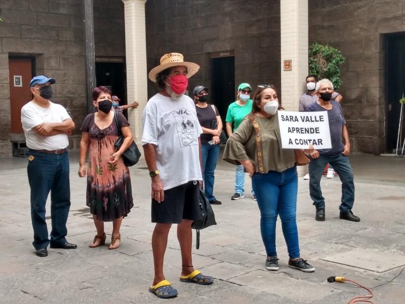 Mientras sea pacífico, tienen derecho a manifestarse: Sara Valle