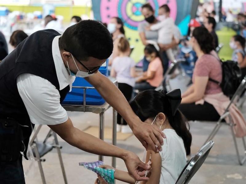 Miércoles inicia inmunización de 9 mil menores veracruzanos con comorbilidades