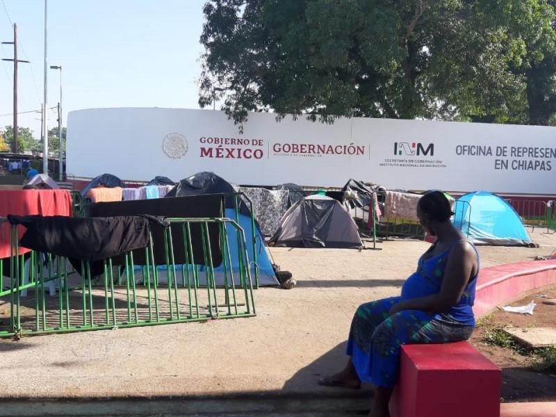 Migrantes africanas piden piedad a autoridades mexicanas