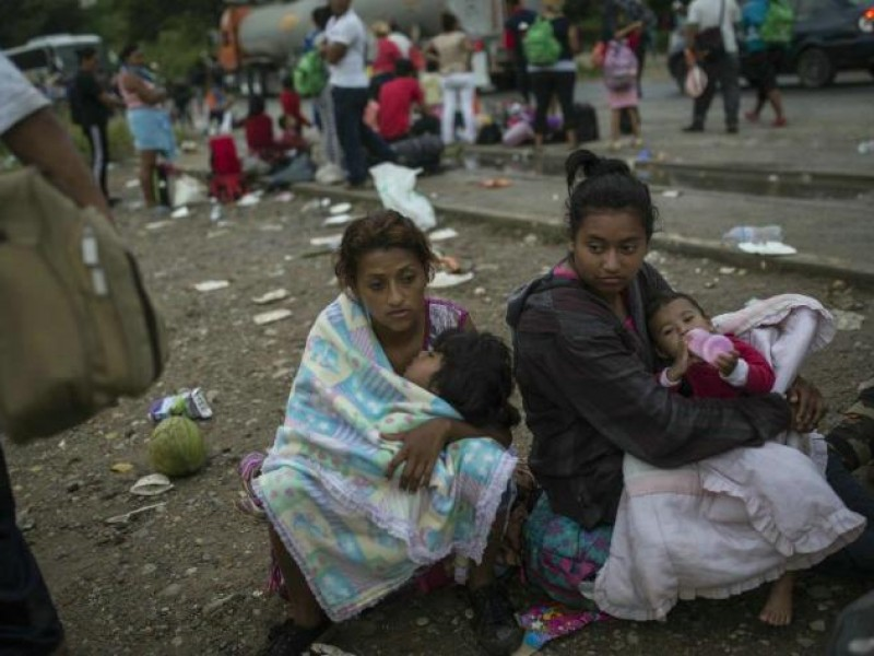 📹 Migrantes centroamericanos llegan a la CDMX