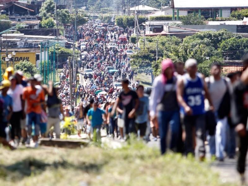 Migrantes centroamericanos saldrán el lunes hacia Guadalajara