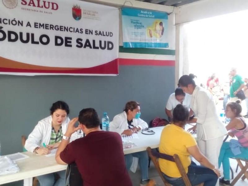 Migrantes con acceso a servicios de salud