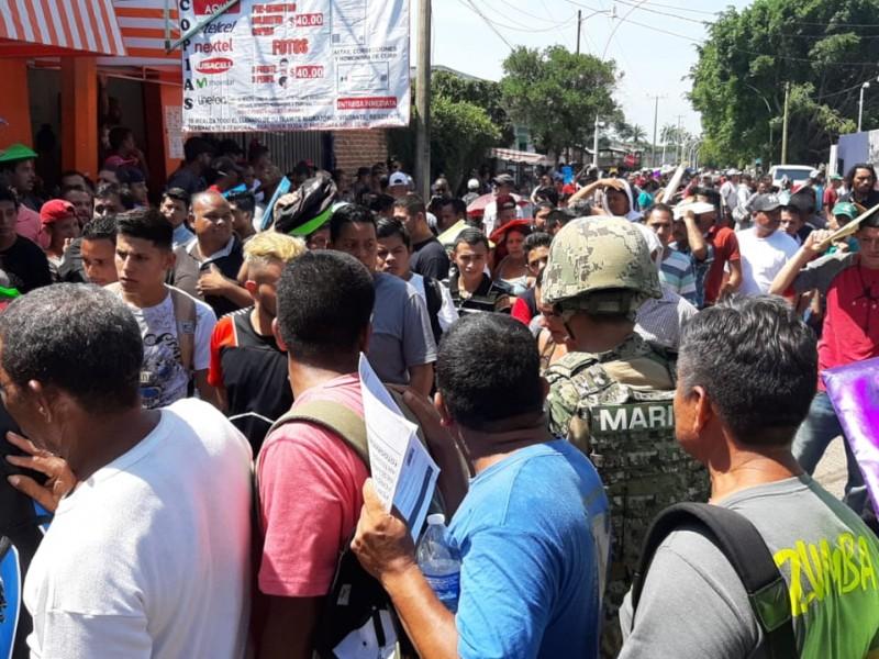 Migrantes cubanos, padecen ante falta de atención