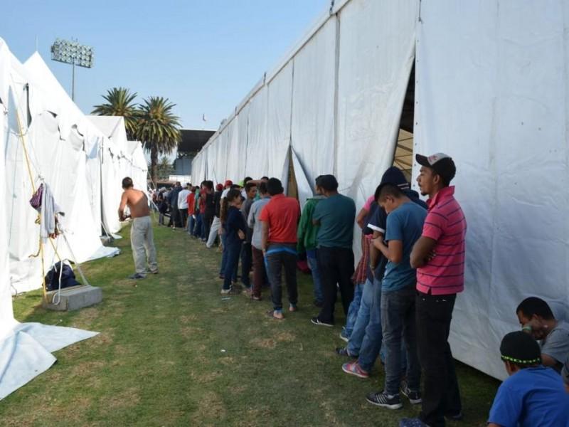 Migrantes deben respetar reglas: Sheinbaum