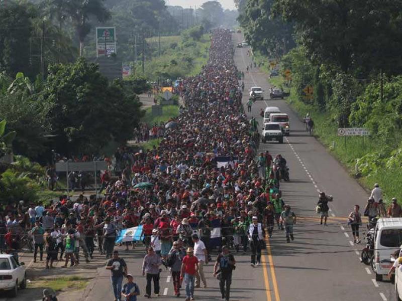 Migrantes en Tapachula desconocen cuándo continuarán su viaje