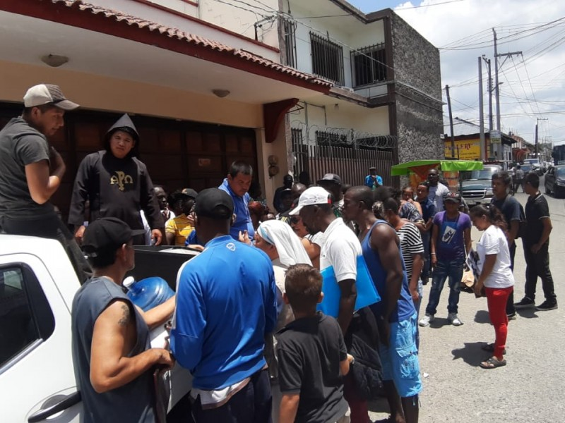 Zafarrancho entre migrantes en Tapachula por ayuda humanitaria