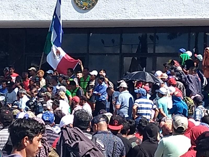 Migrantes piden intervención de organismos internacionales