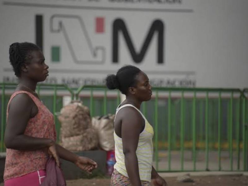 Migrantes reciben atención preventiva en la frontera sur