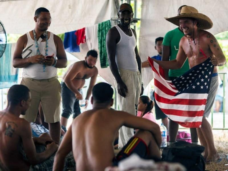 Migrantes se encuentran varados en Mapastepec