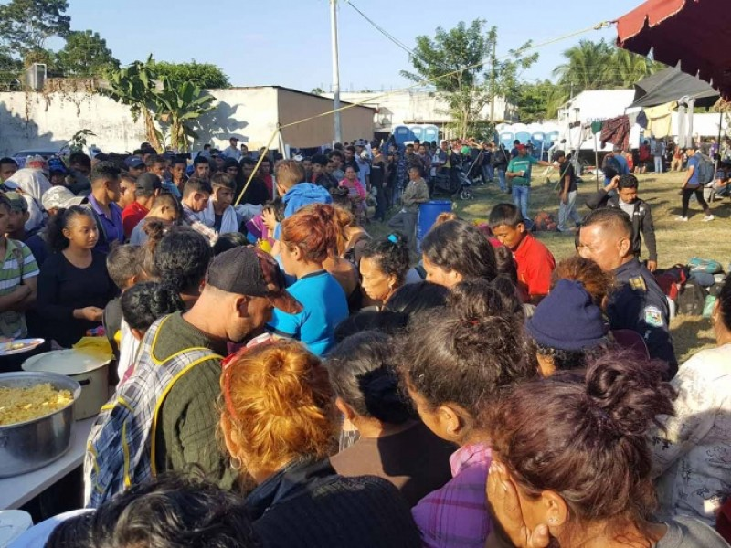 Migrantes trabajaran en la frontera sur del país