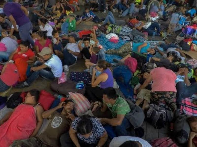 Migrantes viajarán en autobuses de Tapachula a CDMX