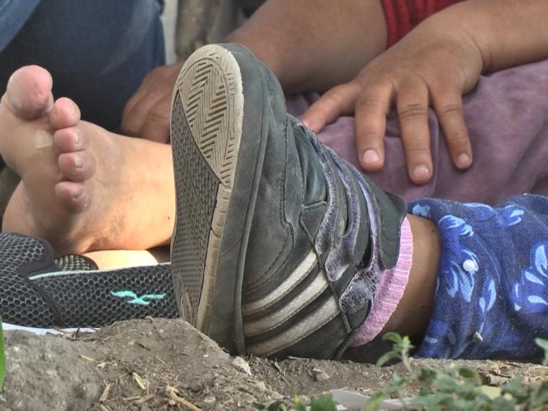Migrar para huir de la violencia en Honduras