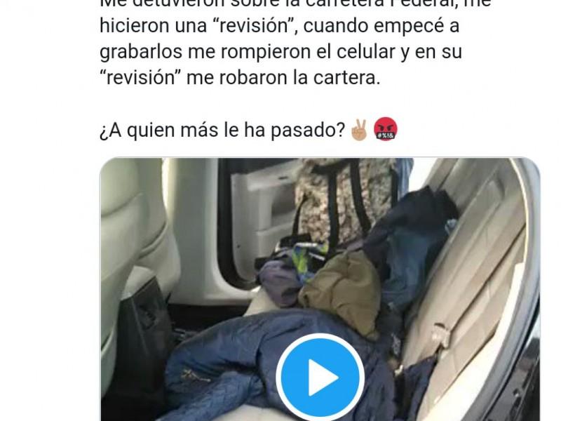 Mijis denuncia a Policía Estatal de Querétaro