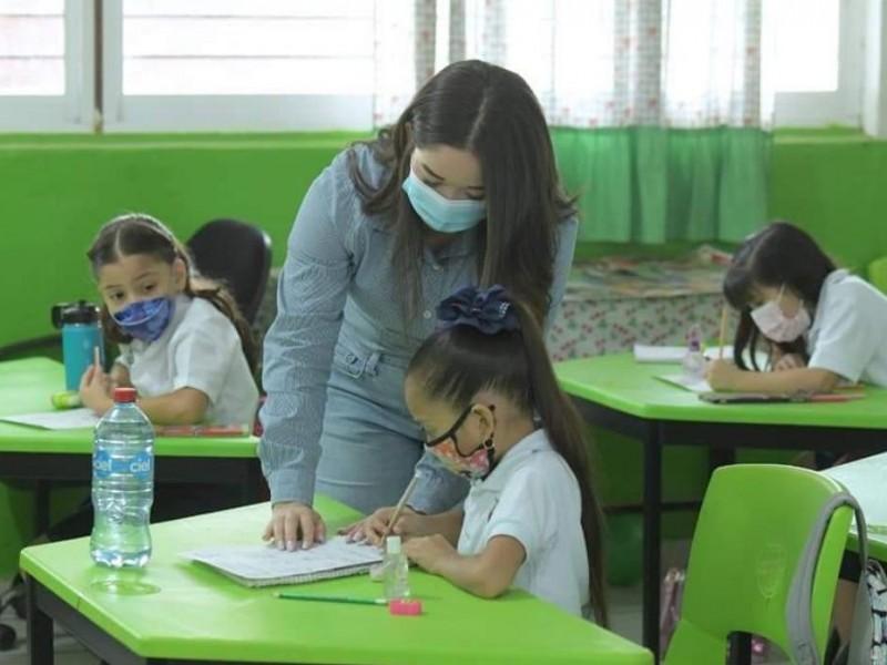 Mil 098 escuelas se suman a la presencialidad en Sinaloa