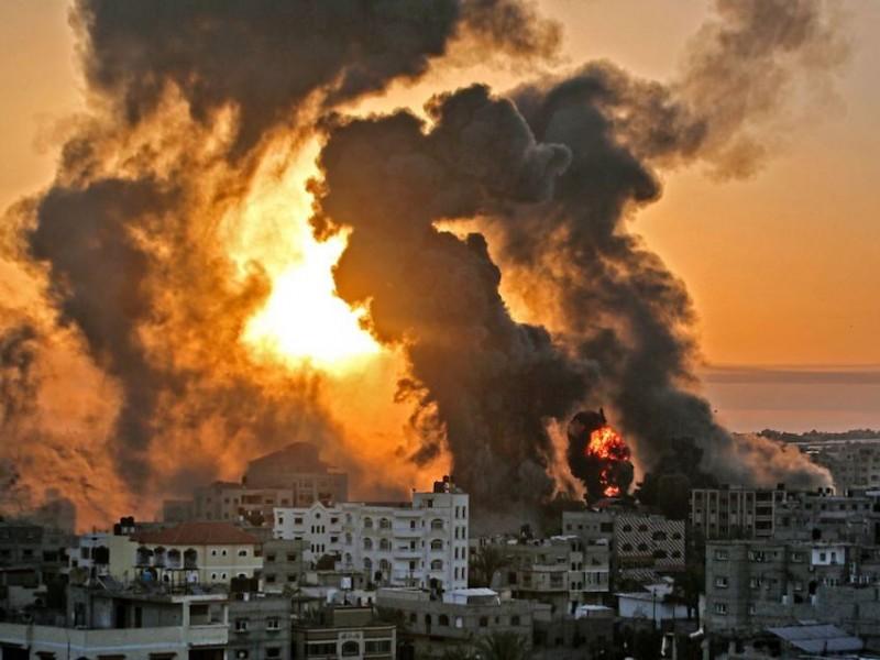 Mil 500 cohetes han sido lanzados contra Israel desde Gaza