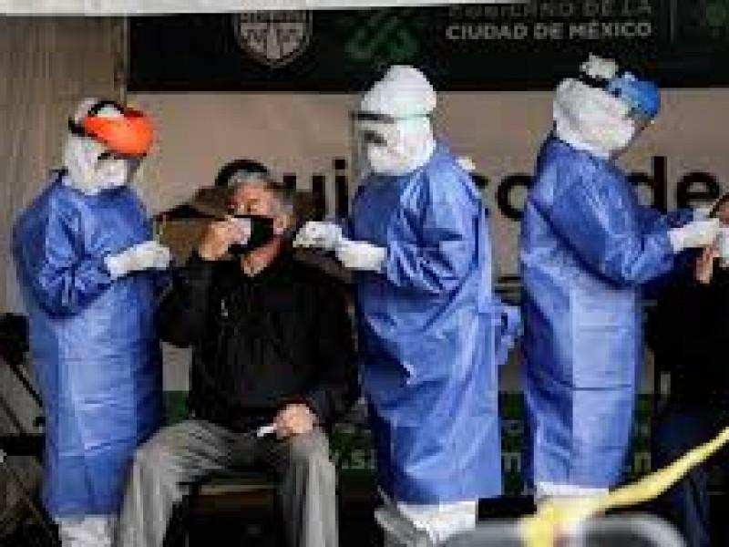 Se registran mil 805 nuevos contagios de Covid-19 en México