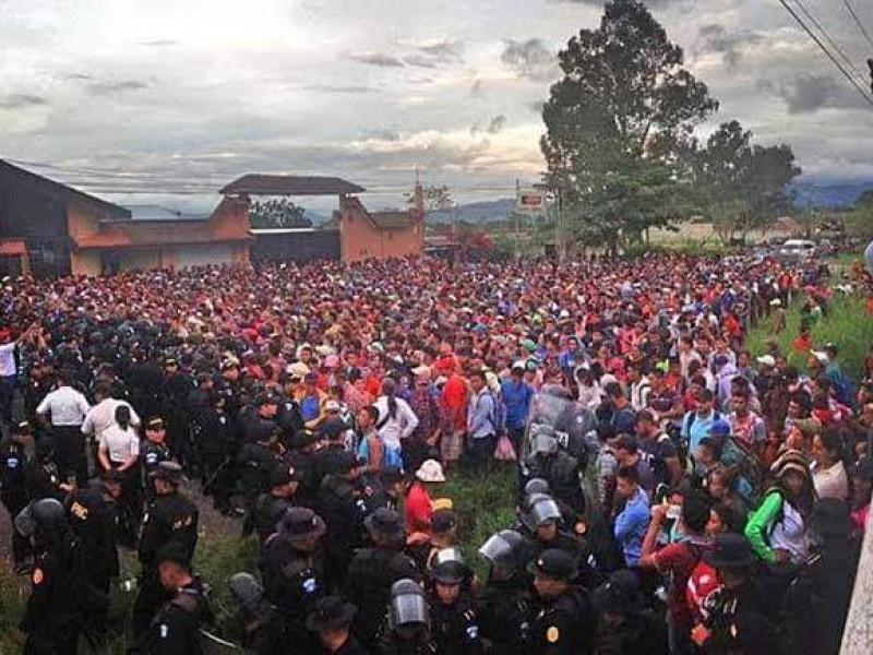 Miles de centroamericanos arribarán hoy a Chiapas