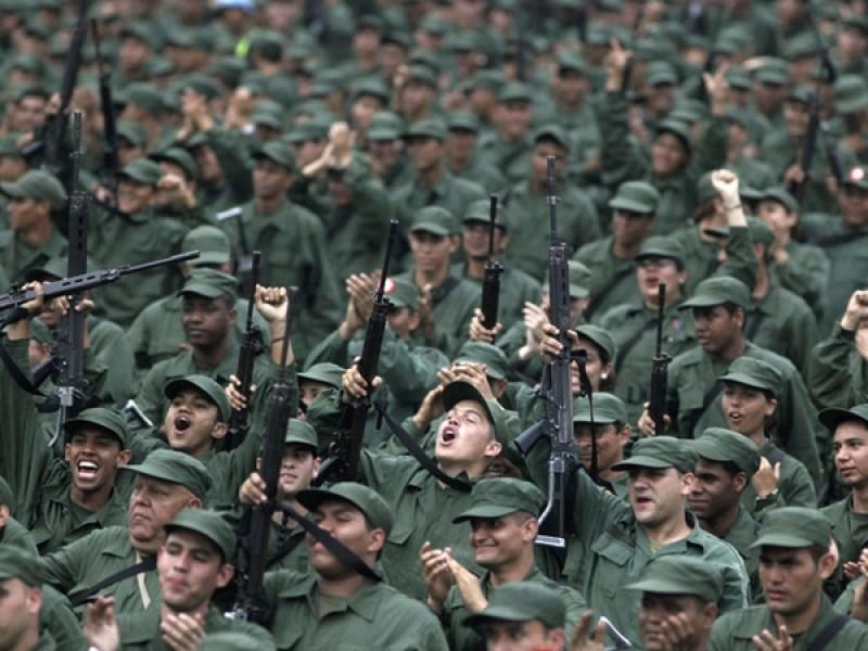 Milicia Bolivariana aumenta su cantidad de reclutas