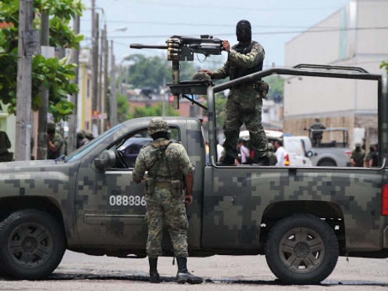 Militares fueron agredidos en Nochistlán, tres lesionados