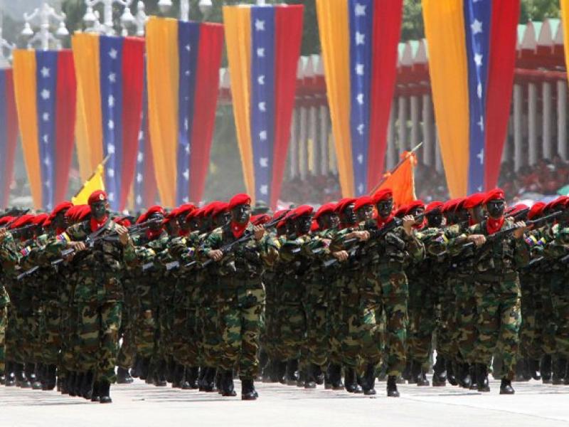 Militares venezolanos repudian