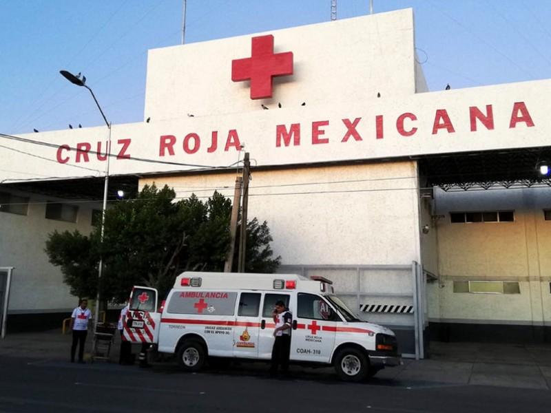 Mitad del personal de Cruz Roja Torreón ya está vacunado