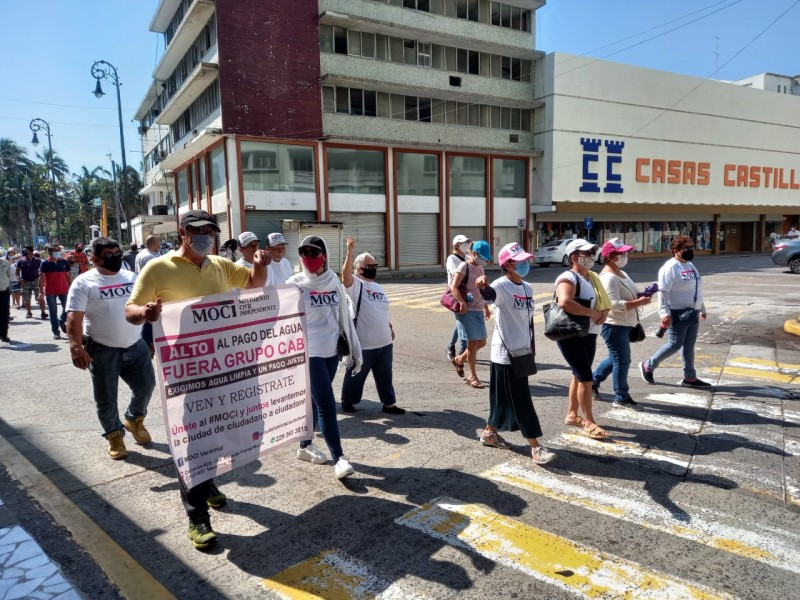 MOCI se manifiesta nuevamente en contra de Grupo MAS
