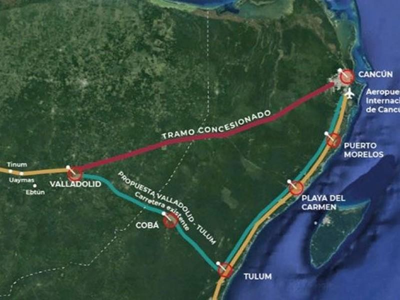 Modifican trazo del Tren Maya