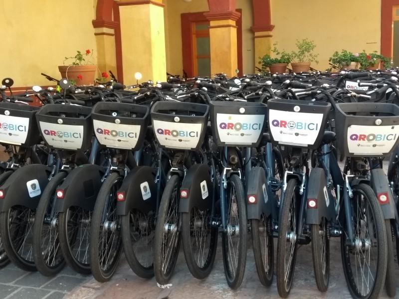 Modificarán sistema Qrobici y habrá 900 bicicletas