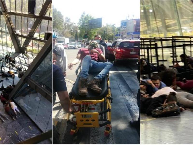 Momentos de terror por balacera en CDMX