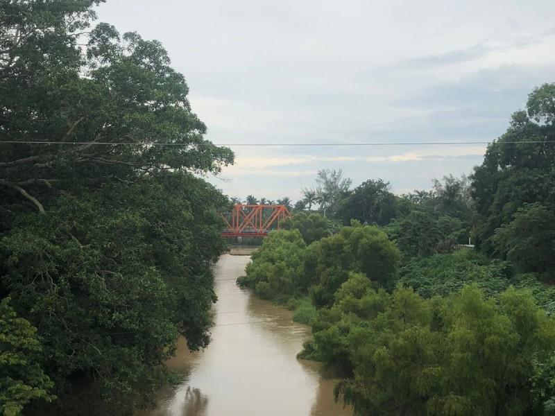 Monitorean los ríos Jamapa y Cotaxtla por huracán Grace