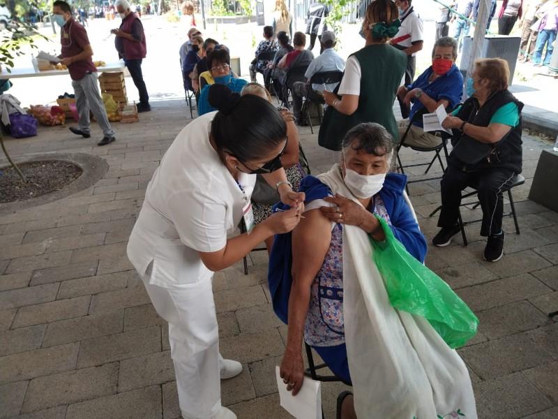 Morelia: siguiente semana iniciaría vacunación a personas de 40-49 años