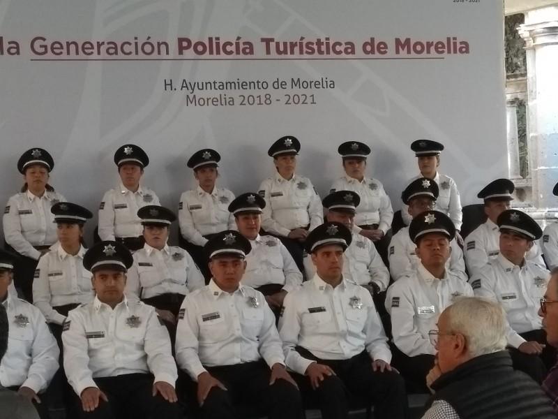 Morelia ya cuenta con policía turística