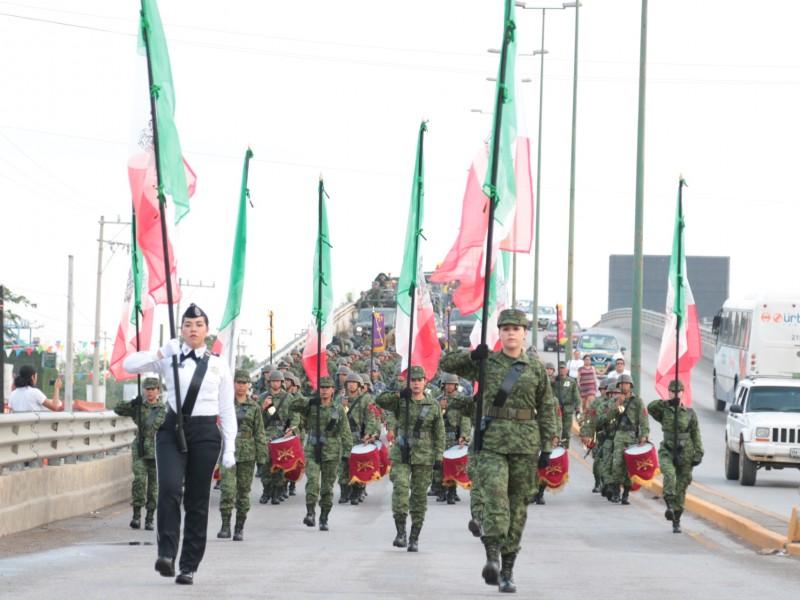 Morena acusa de militarización al PAN Y PRI