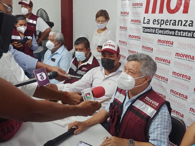Morena denuncia a Moreno Arcos por actos ilegales en campaña