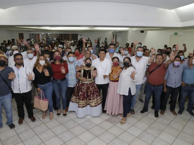 MORENA obtuvo 49 de las 153 Presidencias Municipales en juego