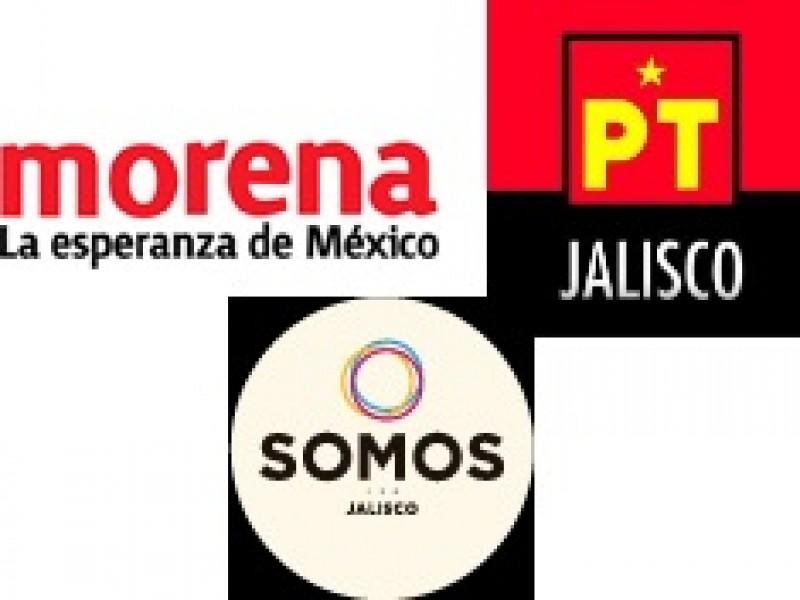 Morena-PT-Somos es la única alianza electoral registrada en Jalisco