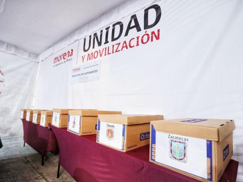 Morena registra 150 aspirantes a candidatos para 15 gubernaturas