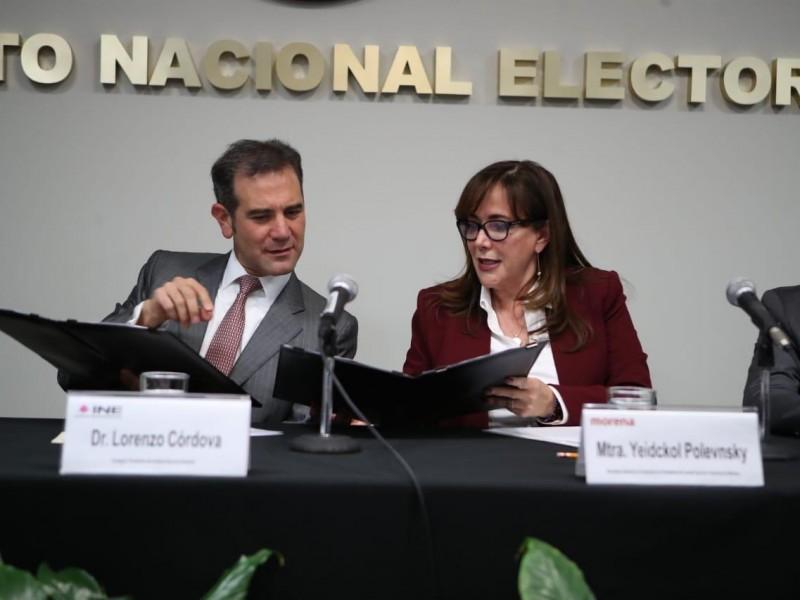 Morena renuncia al 75% de su presupuesto