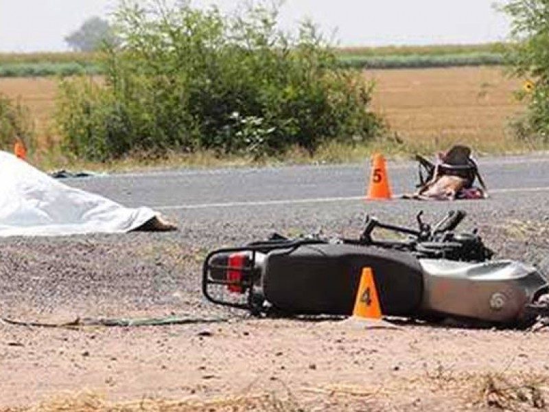 Motociclistas factor de riesgo en accidentes viales