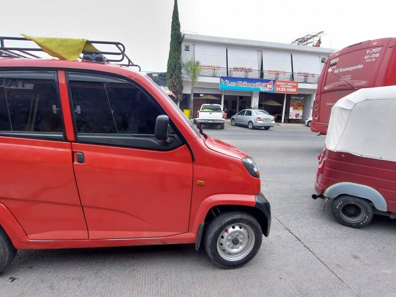 Mototaxis a favor de la regularización