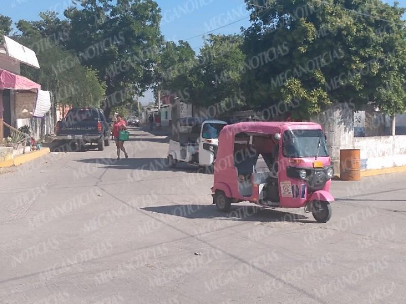 Mototaxistas aumentan tarifas en Mixtequilla; pobladores inconformes