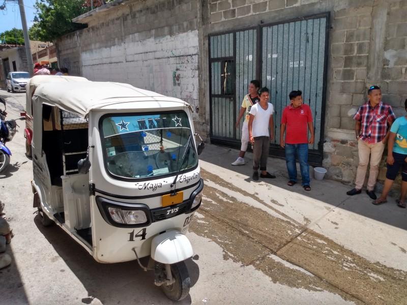 Mototaxistas piden a SEMOVI operativos contra unidades irregulares